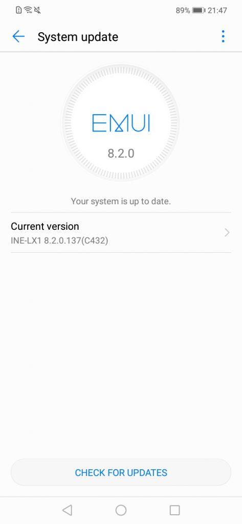 Huawei Nova 3i/P Smart+ receives update: February 2019