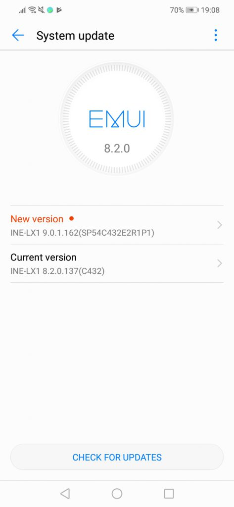 "Huawei Nova 3i/P Smart+ receives Android 9 0 ""Pie""/EMUI9 0 1 - DRSC"