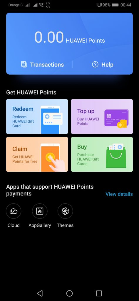 Huawei working on new payment options, Huawei points - DRSC