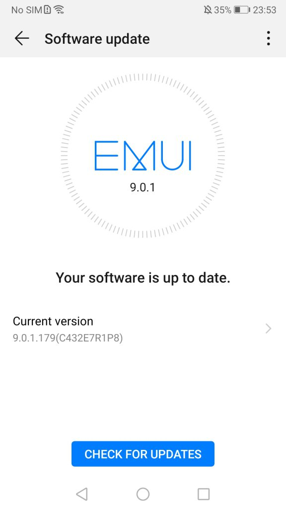 Huawei Mate 9 receives update: April 2019 security patch